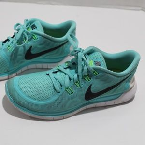 Nike Free 5.0 2014 Size 9.5 Running Shoes Sneakers